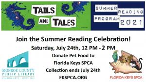 Flyer for summer reading celebratiodn